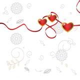 Three hearts Royalty Free Stock Images