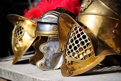 Three helmets Royalty Free Stock Image