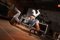 Free Three Hip-hop Dancers Royalty Free Stock Photography - 5098567