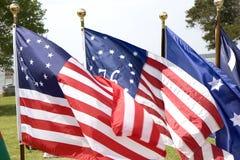 Free Three Historic Flags Stock Image - 5373771