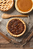 Three Holiday Pies Royalty Free Stock Photo