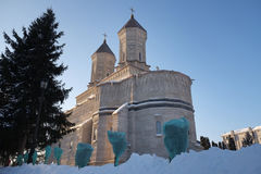 The Three Holy Hierarchs Monastery Royalty Free Stock Image