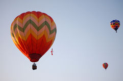 Three Hot Air Balloons Royalty Free Stock Image