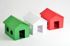 Free Three Houses Royalty Free Stock Photo - 25095285