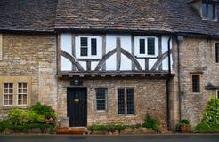 Three hungered years log English house, UK Royalty Free Stock Images