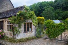 Three hungered years old English house, UK Stock Images
