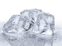 Three ice cubes Royalty Free Stock Images