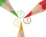 Three Important Items Stock Image