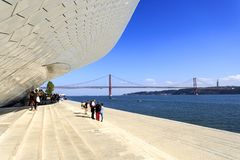 Lisbon - MAAT Museum Royalty Free Stock Images