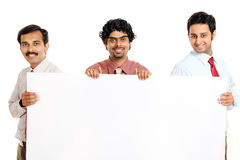 Three Indian young business people Royalty Free Stock Photo
