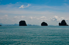 Three islands. In andaman sea Stock Images