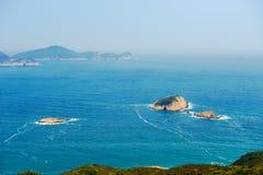 Three islands Royalty Free Stock Image