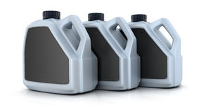Three jerrycan Royalty Free Stock Photo
