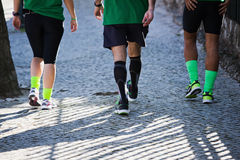 Three jogger Stock Image