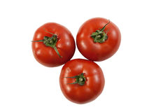 Three juicy beefsteak tomatoes Royalty Free Stock Photography