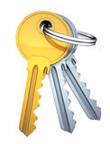 Three keys Stock Images