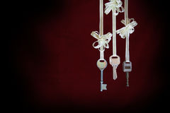 Three Keys Background Royalty Free Stock Image
