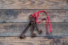 Three keys Royalty Free Stock Photo