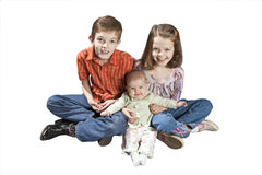 Three kids Stock Image