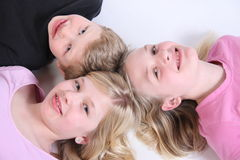 Three kids Stock Photo