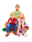 Fashion and kids Royalty Free Stock Image