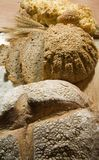 Three kind of bread. Three kinds of fresh and well smelled bread Stock Photo