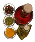 Three Kind Of Spices Royalty Free Stock Photos