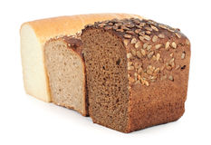 Three Kinds Of Bread Royalty Free Stock Photo