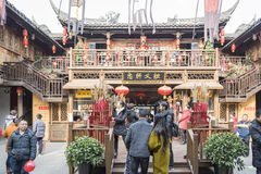 The Three Kingdoms culture experience area view Stock Photos