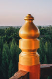 Three Kingdoms Garden at Pattaya : Corridor Detail. Stock Photos