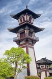 Three kingdoms scenic area wuxi Stock Image