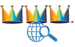 We three Kings. Of  the internet are. Christmas web Stock Photos