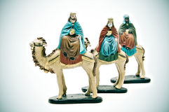 Three Kings Royalty Free Stock Image