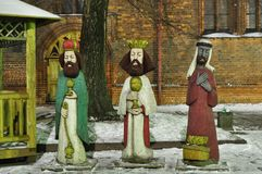 Three kings Royalty Free Stock Image