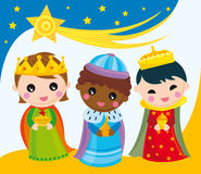 Three kings Royalty Free Stock Images