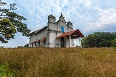 Three Kings Chapel. At Goa believed to be most haunted place and a tourist place where one can feel what is fear Royalty Free Stock Photos