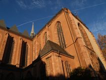 Three kings church ii. Three kings church, frankfurt stock photography