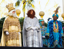 Three Kings greeting Stock Photos