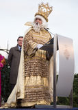 Three Kings greeting Stock Images