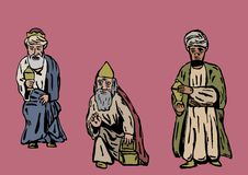 Three kings. Image of the Three Kings Royalty Free Stock Photography