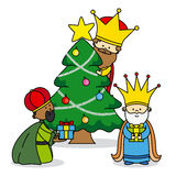 The three kings Stock Images