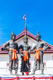 The Three Kings Monument, Thailand Stock Photography