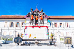 The Three Kings Monument, Thailand Royalty Free Stock Photo