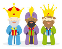 The three kings Stock Photos