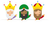 Three kings of orient Stock Image