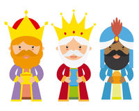 The three kings of orient Stock Image