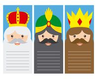 The three kings of orient Royalty Free Stock Photography