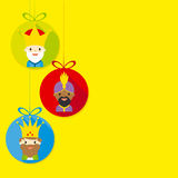 The three kings Royalty Free Stock Images