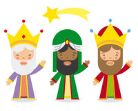 The three kings of orient Stock Images