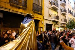 Three Kings Parade in Seville, Spain Stock Photos